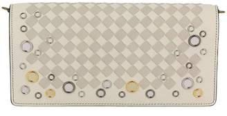 Bottega Veneta Mini Bag Crossbody Bag Palio Small With Two-tone Braided Motif And Edges With Metal Eyelets