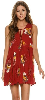 Free People Lovely Day Printed Tunic $88 thestylecure.com