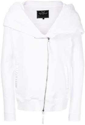 Unconditional zipped hoodie