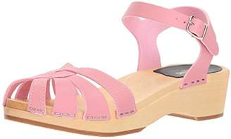 Swedish Hasbeens Women's Cross Strap Debutant Heeled Sandal