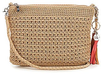 The Sak Shasta Tasseled Crochet Convertible Demi Cross-Body Bag $39 thestylecure.com
