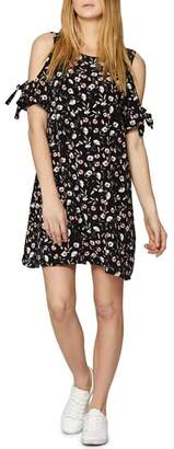 Sanctuary Valencia Cold Shoulder Floral Dress