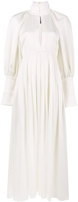 Ellery the contained high-neck dress
