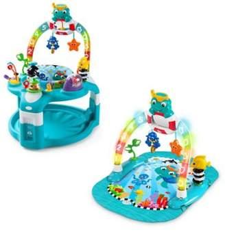 Baby EinsteinTM 2-in-1 Lights & Sea Activity Gym & Saucer $119.99 thestylecure.com