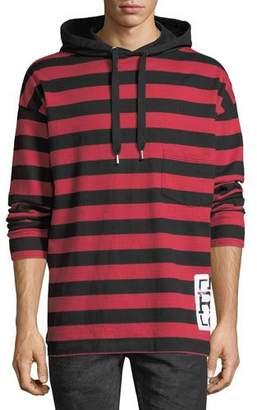 PRPS Striped Rugby Hoodie