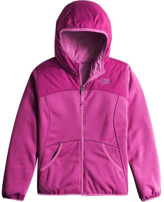 The North Face Haldee Reversible Fleece Hooded Jacket - Girls'