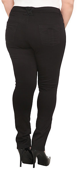 Tripp NYC - Black Skinny Pant (Regular)