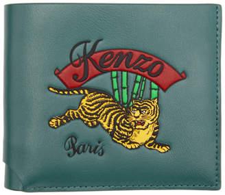 Kenzo Blue Jumping Tiger Wallet