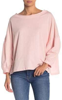 Free the Roses Long Dolman Sleeve Shirt