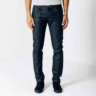 DSTLD Skinny-Slim 12.75oz Raw Denim Jeans in 24-dip Indigo - Grey