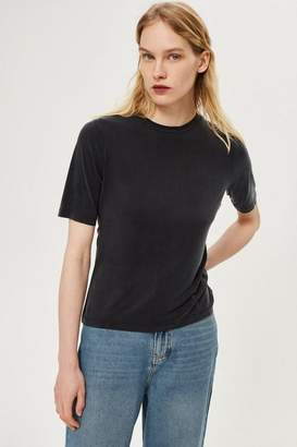 Boutique **cupro twist back t-shirt