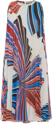 Emilio Pucci Accordion Mini Dress $1,552 thestylecure.com