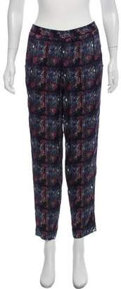 Theyskens' Theory Mid-Rise Printed Pants