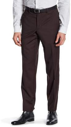 Ted Baker London Jarret Burgundy Pin Dot Suit Separates Wool Trouser $109.97 thestylecure.com