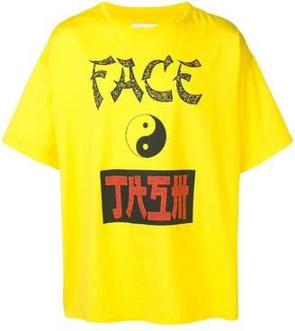 Facetasm yin-yang T-shirt