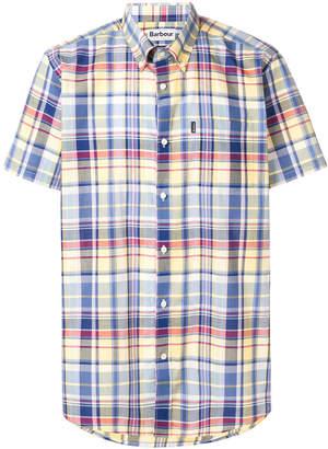 Barbour short sleeve plaid shirt