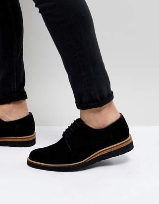 Dead Vintage Suede Cork Brogue Shoes