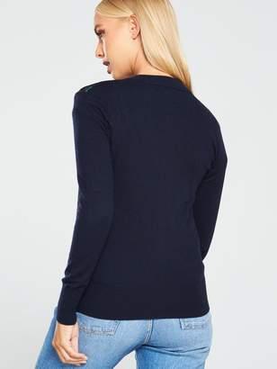 Ted Baker Nikin Hedgerow Knitted Jacket - Dark Blue