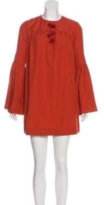 Rachel Zoe Bell Sleeve Mini Dress w/ Tags