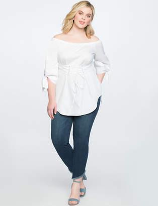 Asymmetrical Hem Jean