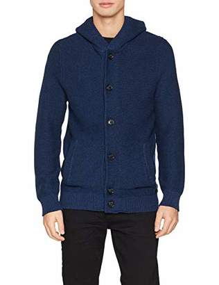 Q/S designed by Men's 47.811.64.1234 Cardigan,Large