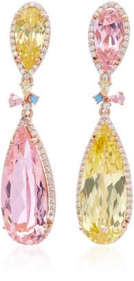 Anabela Chan 18K Yellow Gold Vermeil Multi-Stone Earrings