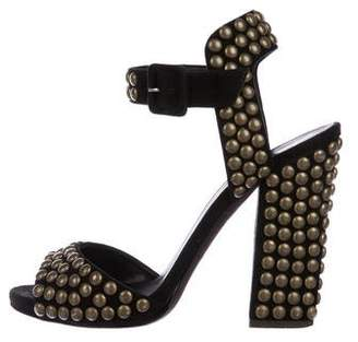 Giuseppe Zanotti Suede Studded Sandals
