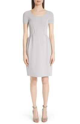 Emporio Armani Seamed Ribbed Dress
