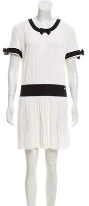 Chanel Rib Knit A-Line Dress w/ Tags