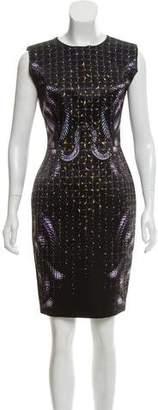 Hakaan Sleeveless Knee-Length Dress