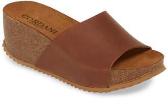 Cordani Margie Wedge Slide Sandal