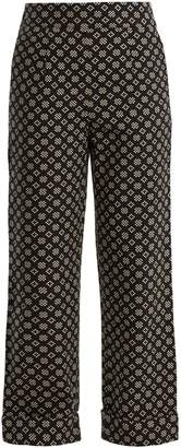 Ace&Jig Annie high-rise wide-leg cotton trousers