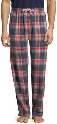 Psycho Bunny Men's Flannel Cotton Pants