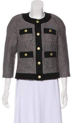 Pierre Balmain Tweed Casual Jacket