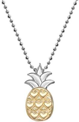 Alex Woo Fusion Vegas Pineapple Necklace, 16""