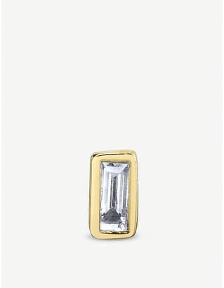 Sydney Evan The Alkemistry 14ct yellow-gold stud earring