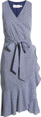 Vineyard Vines Scallop Dot Wrap Dress