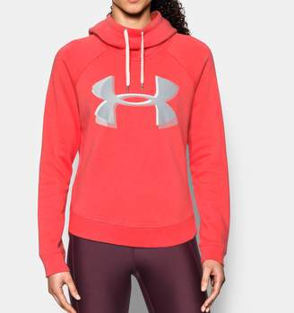 Under Armour Women's UA Fashion Favorite Exploded Logo Pullover