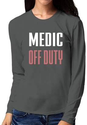 Site Athletics Medic off duty Women Long Sleeve T-Shirt