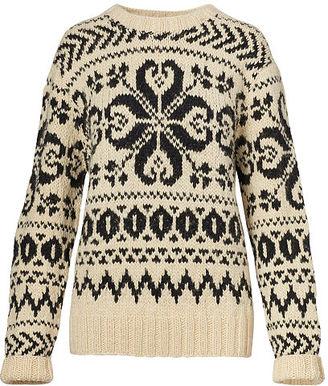 Ralph Lauren Cashmere Jacquard Sweater $1,490 thestylecure.com