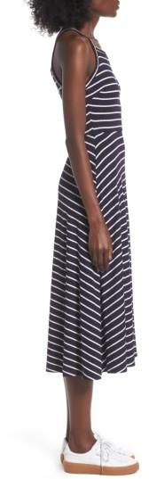 Women's Lush High Neck Knit Midi Dress 2
