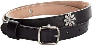 Burberry Embellished Leather Belt