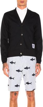 Thom Browne Trompe L'Oeil Sport Coat Cardigan $919 thestylecure.com