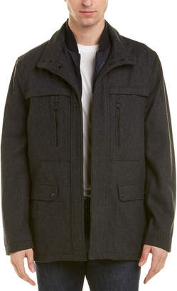 Michael Kors Genoa Melton Wool-Blend Jacket