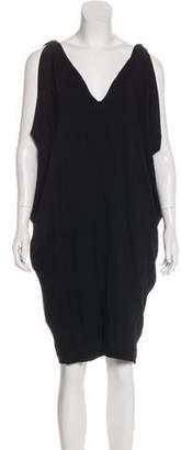 Nicole Miller Jersey Knee-Length Dress