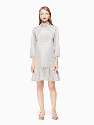 Kate Spade Mock neck stripe knit dress