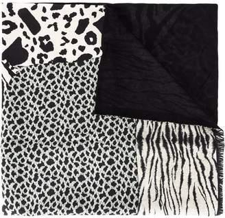 Pierre Louis Mascia Pierre-Louis Mascia animal print scarf