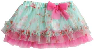 Baby Starters Baby Girl Floral Ruffled Tulle Tutu