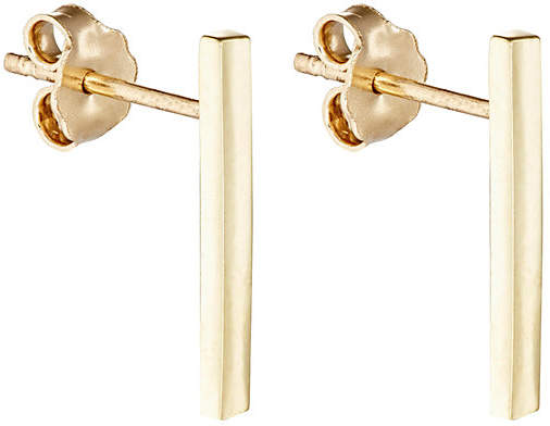 Jennifer Meyer Women's Yellow Gold Long-Bar Studs