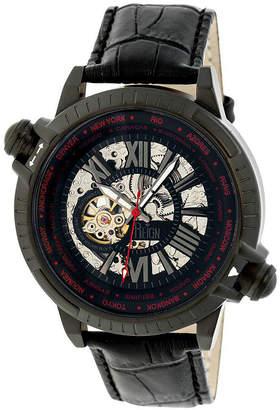 Reign Unisex Black Strap Watch-Reirn2103